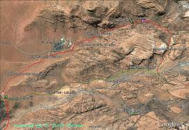 Utah State Parks Map by Red Cliffs Desert Reserve Padre Canyon