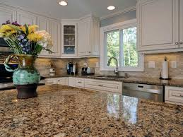 kitchen outstanding white kitchen cabinets with tan quartz