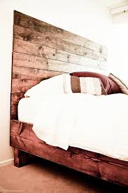 Look Diy Platform Bed With Storage Diy Platform Bed Platform by Rustic Farmhouse Platform Bed Frame W Headboard By Pereidarice