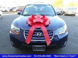 hyundai santa fe best deals blue hyundai santa fe in california for sale used cars on