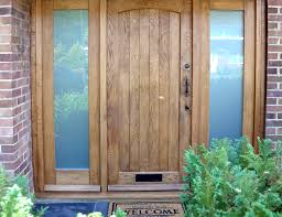 Solid Oak Exterior Doors Wooden Front Doors External Solid Oak Glazed Exterior With Regard