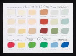 colour chart for v u0026a traditional paints lindslay kathleen v u0026a