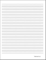 blank paper to write on writing paper blank 36 pt portrait elem abcteach