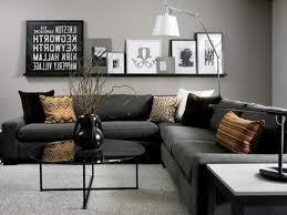 Livingroom Wall Ideas by Captivating 40 Dark Grey Walls Living Room Ideas Design