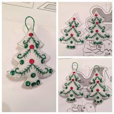 Christmas Tree Advent The Original Britishpandachick Bucilla 86584 Nordic Christmas Tree
