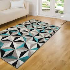 Geometrical Rugs Teal Rugs With Variations Make Your Place Cool U2013 Goodworksfurniture