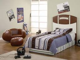 cheap image of sport bedroom decor ideas for boys with football