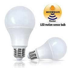 microwave light bulb led microwave radar motion sensor light sensor led light bulb 8w 60w