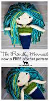 free mermaid crochet pattern friendly red fox
