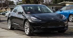 see inside and all around our rented tesla model 3