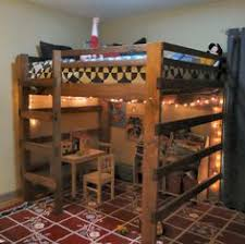 Free Loft Bed Plans Twin Size by Diy Loft Bed Plans Free Free Loft Bed Queen Diy Woodworking