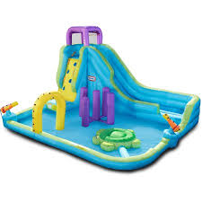 Obstacle Little Tikes Obstacle Course Waterslide Walmart Com