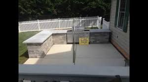 Diy Outdoor Kitchen Island Outdoor Kitchen Built In Grill U0026 Bar Installation Hanover Pa