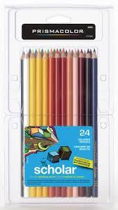 prismacolor scholar colored pencils prismacolor scholar 24 pack at walmart ca