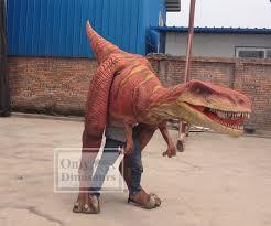 velociraptor costume walking dinosaur costume as interactive exhibit onlydinosaurs