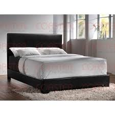 surprising idea queen size bed frames modern black leather queen