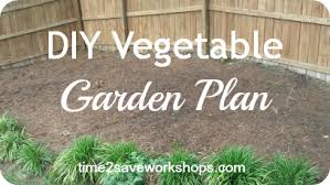 best planting practices diy home vegetable garden plan