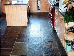 Fix Floor Tiles Awesome Black Slate Floor Tiles Kitchen Also Looking Tile Floors