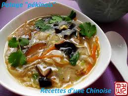 la cuisine chinoise recettes d une chinoise potage pékinois est il de pékin 四川酸辣