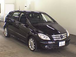 mercedes a class second 2007 mercedes b class b170 sports package japanese used