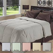 Grand Down All Season Down Alternative Comforter Oversized 350 Thread Count Waterbury Stripe Down Comforter Free
