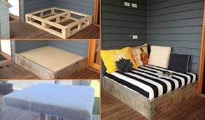 wood day bed tutorial