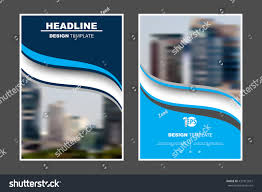 a4 size abstract flat layout wave stock vector 431812621