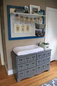 Blue Changing Table Changing Table Organizer Ideas Changing Station Caddy Decor