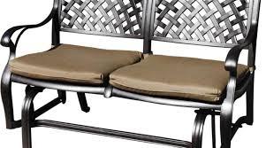 Black Metal Patio Furniture - bench beautiful metal patio bench outdoor furniture makeovers
