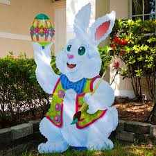 large outdoor easter bunny decorations outdoor designs