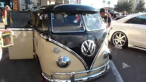 custom volkswagen bus custom vw bus at sema show vegas 2015 youtube