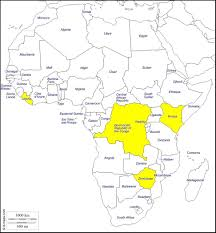Kenya Map Africa by Dhm Missions Map