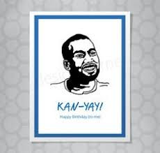 kanye birthday card illustrated big theory leonard hofstadter birthday card