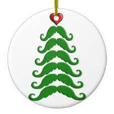 moustache ornaments keepsake ornaments zazzle