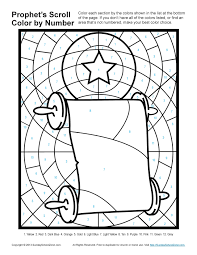 bible scroll coloring page pages for kids bible page