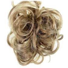 Hair Extensions For Updos by Scrunchie Hair Extension Curly Up Do Dark Blonde Mix Curly