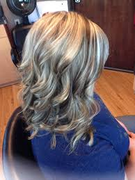 how to do lowlights with gray hair brown lowlights and highlights in blonde hair 3vtqr5xb jpg 736