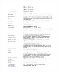 Cosmetic Resume Examples by Makeup Artist Resume 5 Free Pdf Word Documents Download Free