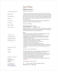artist resume template 5 makeup artist resume templates pdf doc free premium templates