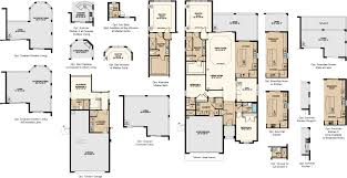 Florida Home Floor Plans Lazio Vii Floor Plan At Esplanade At Starkey Ranch In Odessa Fl