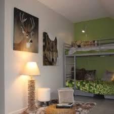 chambre ado vert photos décoration de chambre d ado jumelles nature vert gris de