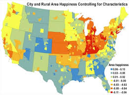 Us Regions Map Nber Unhappy Cities Paper Business Insider