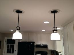 Changing Recessed Lighting To Pendant Lighting Change Recessed Light To Pendant Lighting Conversion Lowes Convert