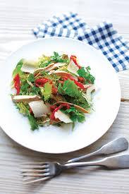 cuisiner la veille pour le lendemain recette la salade au poulet du lendemain