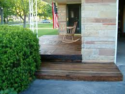 Patio Made Out Of Pallets by Redo Redux Revisiting Past Projects Pallet Wood Front Porch