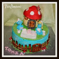 85 best smurfs cakes images on pinterest cake designs cake and