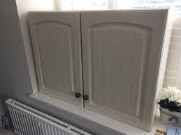 3 magnet shaker style cream kitchen cabinets available due to