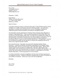 Resume Cover Letter Template Examples Sample Resume Cover Letter For Teachers Resume For Your Job