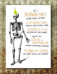 halloween birthday invite wording