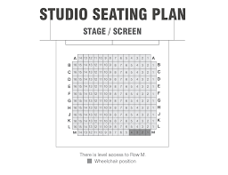 seating plans royal spa centre leamington spa